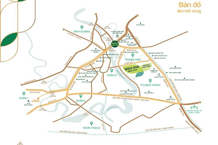 Đất nền Biên Hòa New City - Biên Hòa