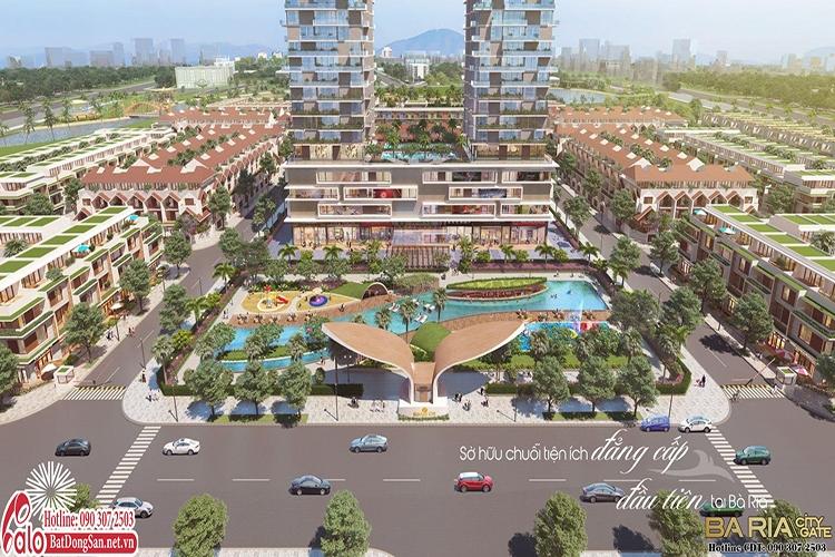 Đất nền Bà Rịa City Gate - Vũng Tàu