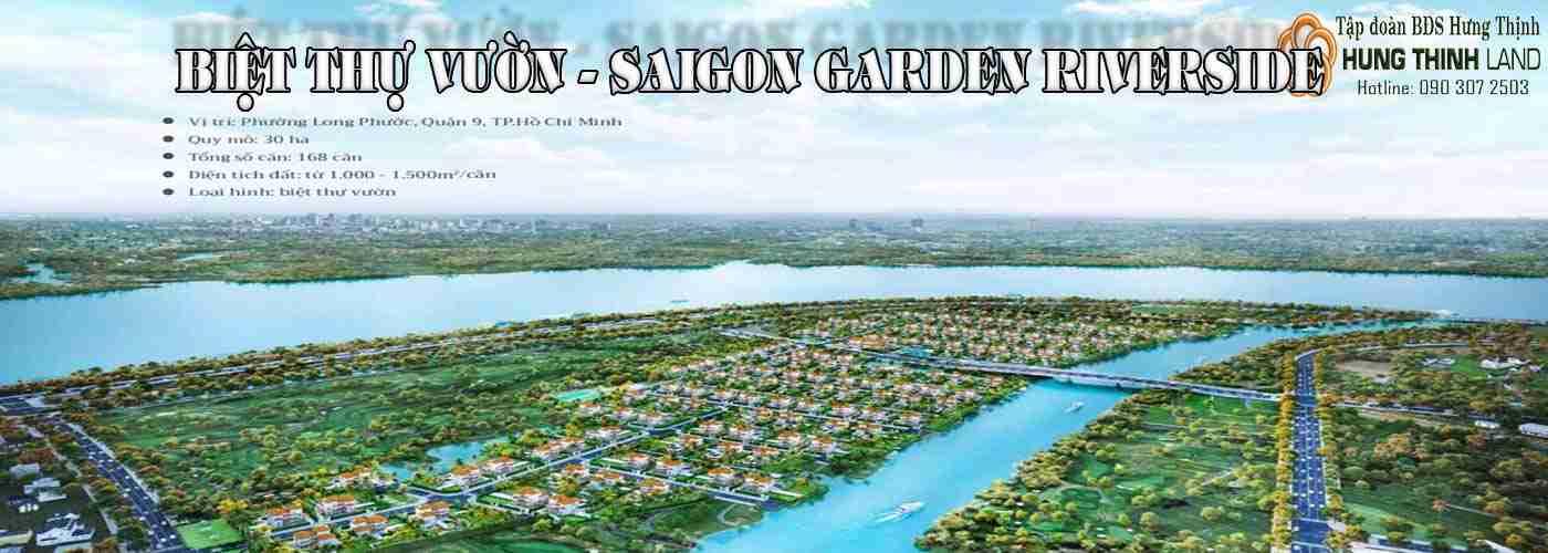 Biệt thự vườn Saigon Garden Riverside Riverside Villas Quận 9