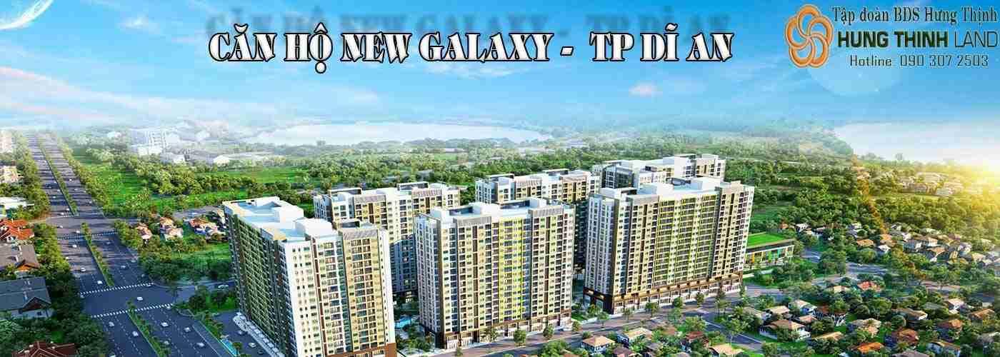 Căn hộ New Galaxy - Tp Dĩ An